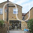 kitchen side extension fulham with sloping glass roof