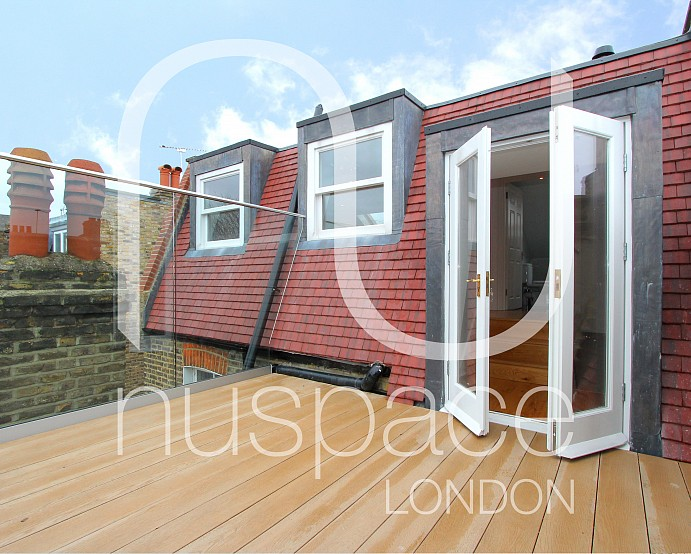 Loft Conversion With Roof Terrace In Fulham