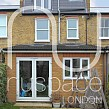 mansard loft conversion merton with juliette balcony
