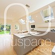 kitchen side extension chiswick with sloping roof and velux windows